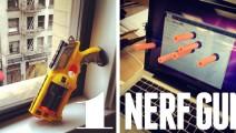 A bout de NERF : L'art de la Guerre au bureau
