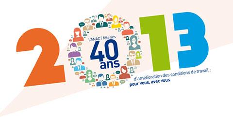 L'Anact fête 40 ans d'amélioration des conditions de travail
