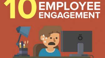 #Infographie : 10 chiffres chocs sur l'engagement de vos collaborateurs !
